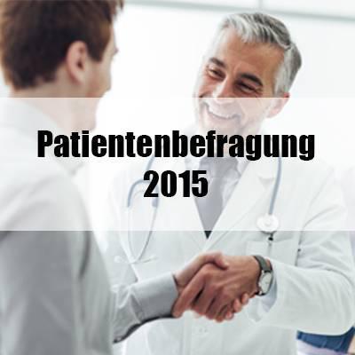 Patientenbefragung 2015