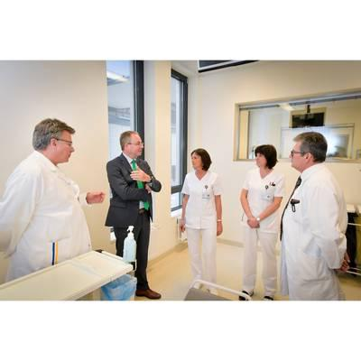 LH-Stv. Dr. Pernkopf zu Antrittsbesuch im LK Mistelbach-Gänserndorf