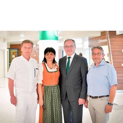 LH-Stv. Dr. Pernkopf zu Antrittsbesuch im LK Amstetten