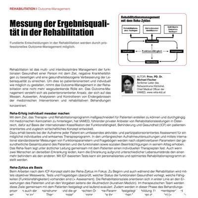 Messung der Ergebnisqualität in der Rehabilitation