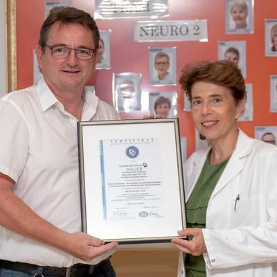 Zertifikat für Schmerztherapie