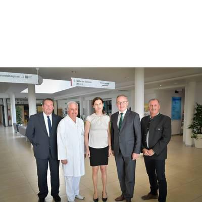 LH-Stv. Dr. Pernkopf zu Antrittsbesuch im LK Scheibbs