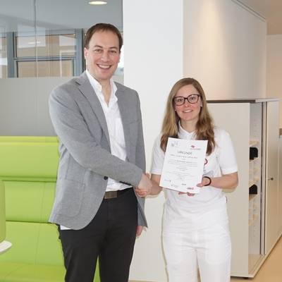 Erster Platz bei Health Research Award