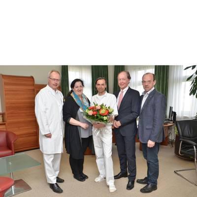 DDr. Dieter Zabransky tritt seinen wohlverdienten Ruhestand an
