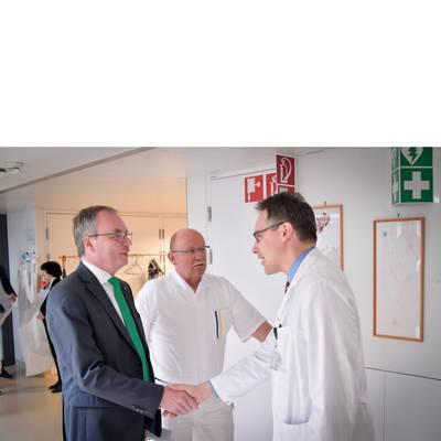 LH-Stv. Dr. Pernkopf zu Antrittsbesuch im UK Tulln