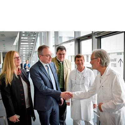 LH-Stv. Dr. Pernkopf zu Antrittsebesuch im LK Melk