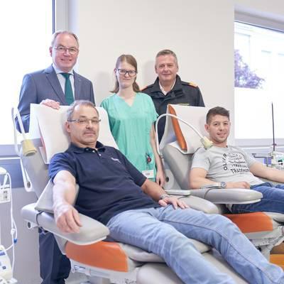 Blutspenden: 10 Minuten retten bis zu drei Leben!