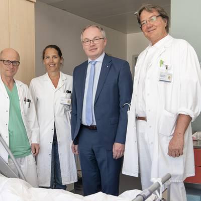 Erste autologe Stammzelltransplantationen in NÖ