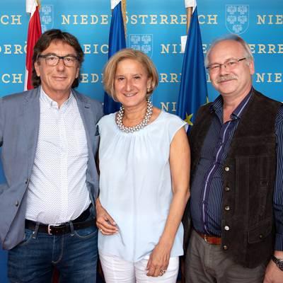 Behindertenvertrauensperson trifft Mikl-Leitner