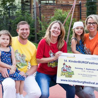 LK Mödling: KinderBURGFestival unterstützt Abteilung für Kinder- und Jugendheilkunde