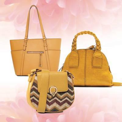 Die trendigsten Taschen in gelb