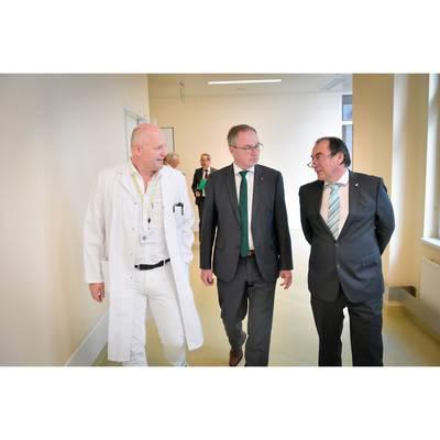 LH-Stv. Dr. Pernkopf zu Antrittsbesuch im Landesklinikum Korneuburg