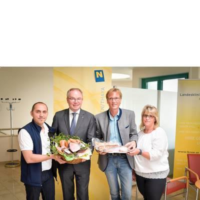 Landesklinikum Waidhofen/Thaya setzt auf beste heimische Lebensmittel