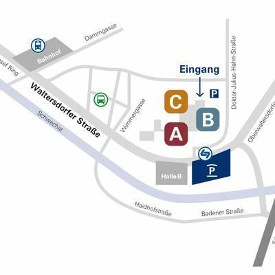 LK Baden: Haupteingang verlegt
