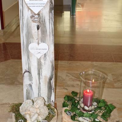 Gedenken für Verstorbene