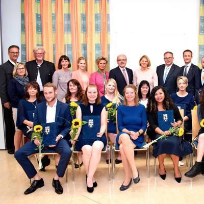GuKPS Hollabrunn: Premiere bei Abschlussfeier