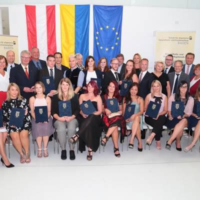 Große Diplom- und Abschlussfeier