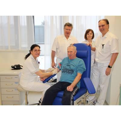 Neue Räume für Blutabnahme