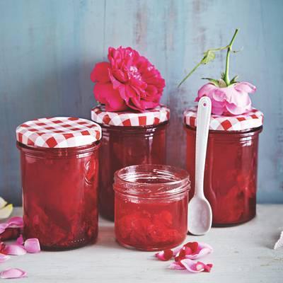 Süße Früchte im Glas