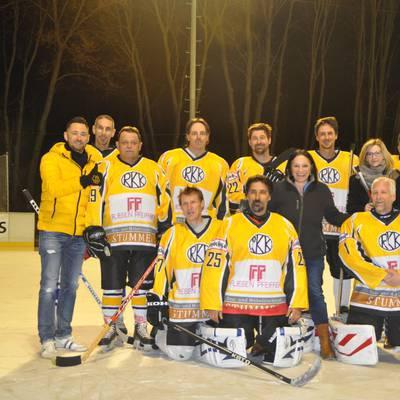 Sieg bei Benefiz-Eishockey-Turnier
