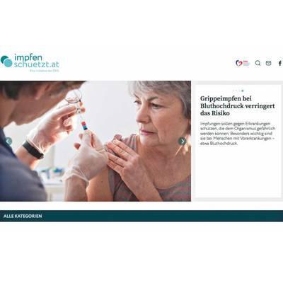 Neue Onlineplattform zum Impfen