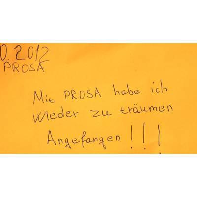 Projekt PROSA: Flüchtlinge drücken die Schulbank