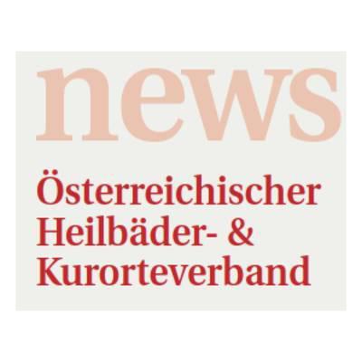 News aus dem Österr. Heilbäder- & Kurorteverband