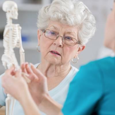 Starke Knochen stark erhalten