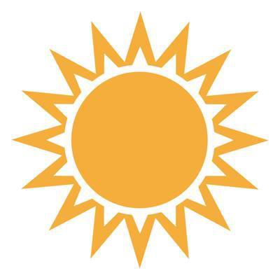 Sonne mit System