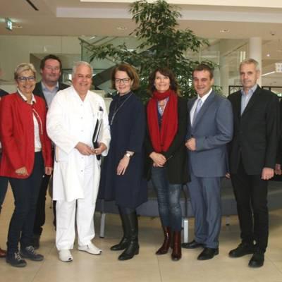Teschl-Hofmeister besucht LK Scheibbs