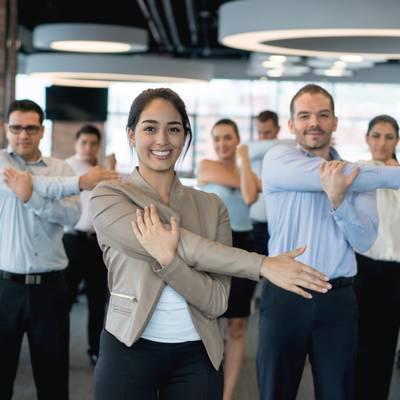 Gesundheit fördern am Arbeitsplatz