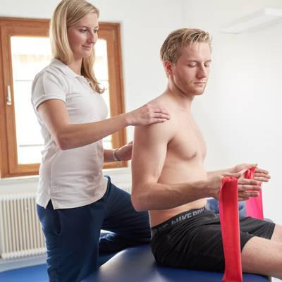 Physiotherapie tut jedem gut