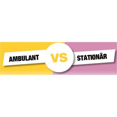 Reha-Setting: Ambulant versus stationär