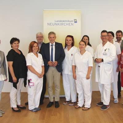 Große Patientenzufriedenheit im LK Neunkirchen