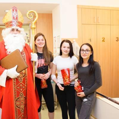 Nikolaus zu Besuch im LK Amstetten