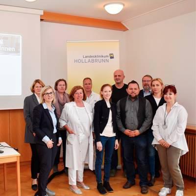 LK Hollabrunn: CIRS kommt zum Einsatz
