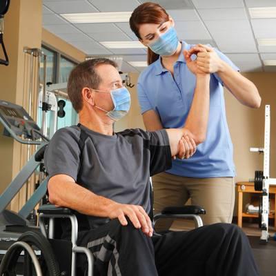 Physiotherapie bei sensomotorischen Störungen