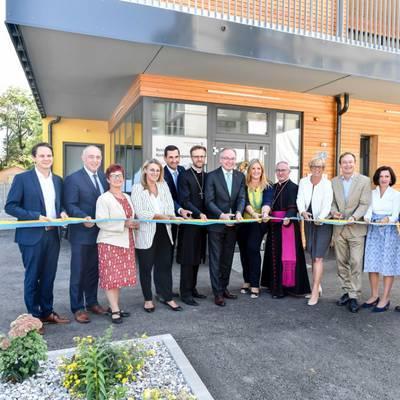 Universitätsklinikum St. Pölten:Eröffnung der neuen Kinderbetreuungs-Einrichtung