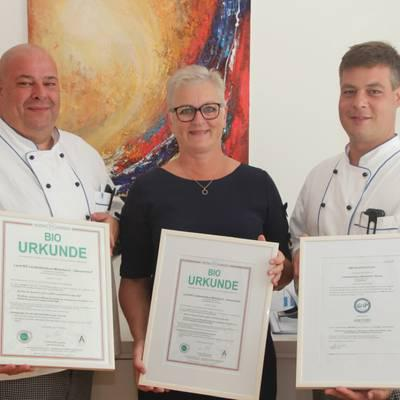 Erfolgreiche Zertifizierungen für Küche des Landesklinikums Mistelbach-Gänserndorf