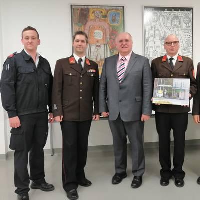 Gogl ist neuer Betriebsfeuerwehrkommandant