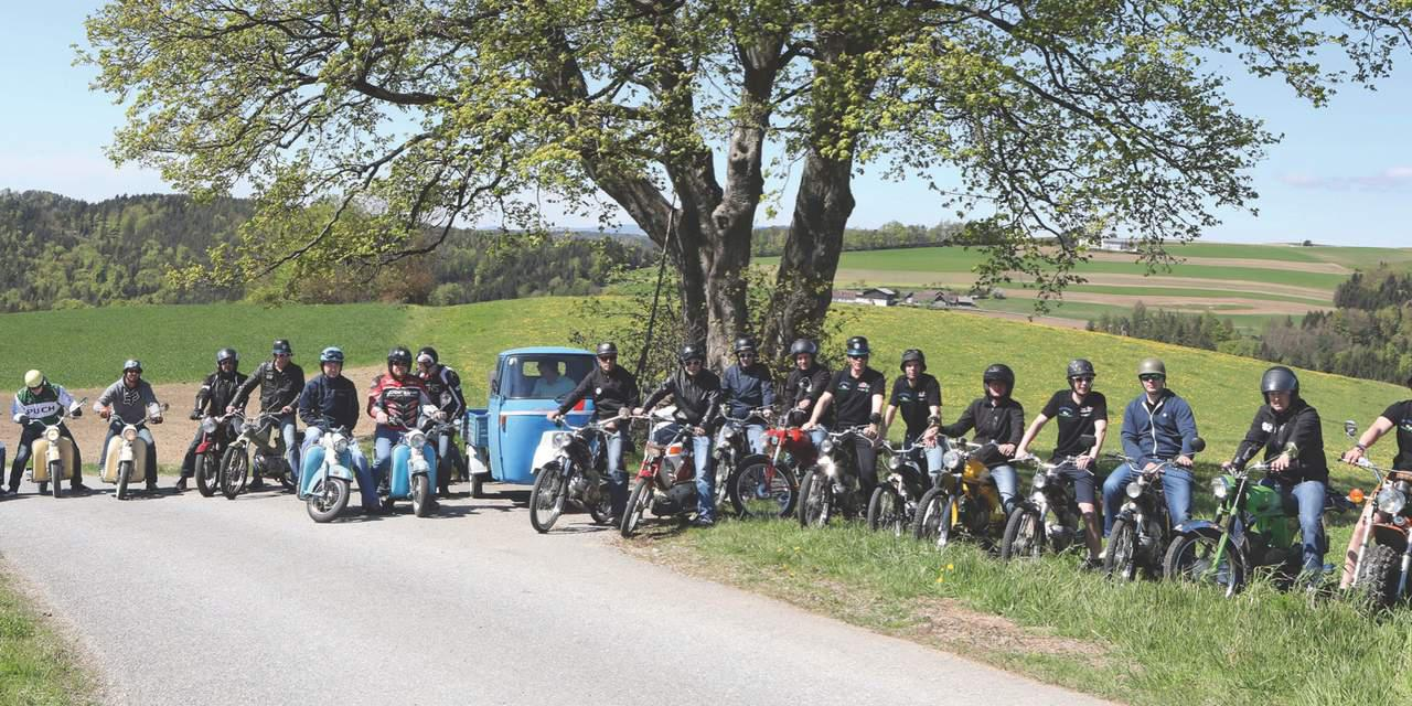 Frühling, Sonne, Moped fahrn!