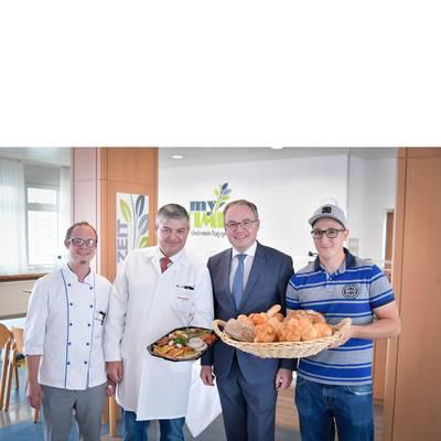 Landesklinikum Hochegg setzt auf beste heimische Lebensmittel