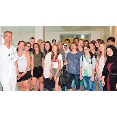 Besuch des Bildungszentrums
