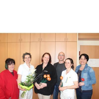 Caritas dankt Landesklinikum Hochegg