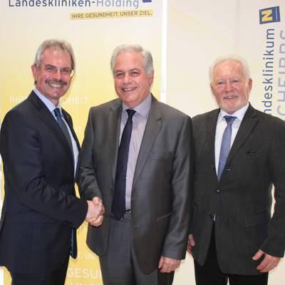 Dr. Erwin Schwaighofer ist neuer interimistischer Ärztlicher Direktor