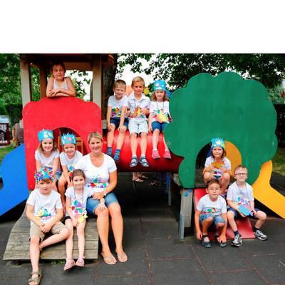 Kunterbuntes Calimero-Sommerfest