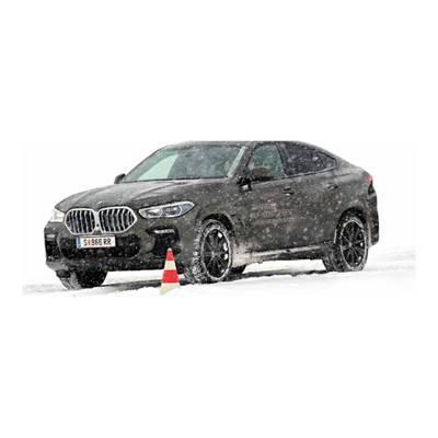 BMW Winter-Technic-Drive am Gletscher in Sölden