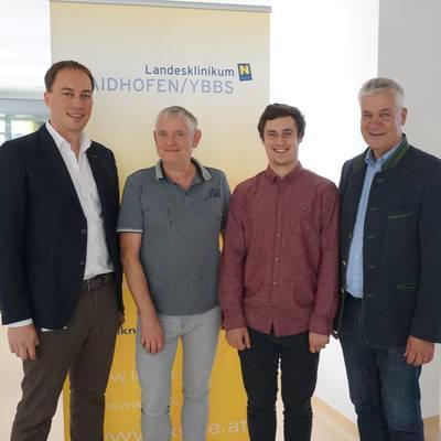 Erster Lehrling im LK Waidhofen/Ybbs