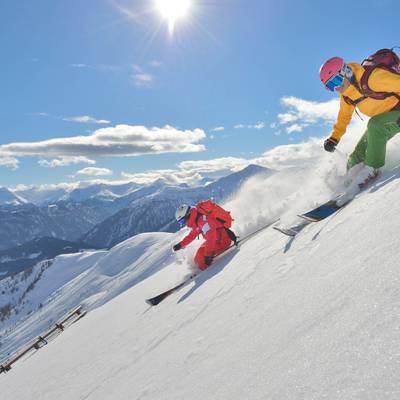 Skihotspots der Alpen