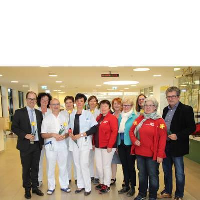 Caritas bedankt sich beim LK Mistelbach-Gänserndorf
